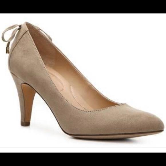 684f9ec80f Kelly & Katie Shoes | Kelly Katie Louisa Heel Suede Pump Lace Up ...